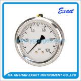 /Oil-Filled riempito liquido standard tutto il manometro dell'acciaio inossidabile