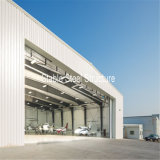 Fabrication préfabriquée de hangar d'avions d'acier de construction