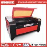 Automatische CO2 Laser-Markierungs-Maschine für hölzernes/Acryl/Gewebe/Tuch