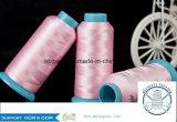 Bianco grezzo/ha tinto il filato 450d/1 del filamento del rayon viscoso di 100%