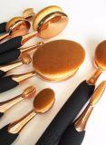 Jogo de escova oval cheio da amostra livre de jogo de escova da composição do fabricante por atacado