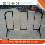 Barrera de acero galvanizada sumergida caliente del control de muchedumbre del tráfico del metal