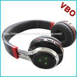 고품질 LED 가벼운 Foldable Bluetooth 헤드폰, 무선 헤드폰