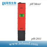 Compteur pH portatif rouge de petite taille pH-2011 de Digitals