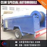 中国は下水タンクトラックを流出させる4mt下水道の浚渫機の手段を作る