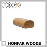 Pêche à la traîne en bois d'escalier de balustrade de cendre ronde de haute qualité pour la construction d'hôtel