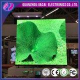 LED do monitor de vídeo a cores de publicidade no interior da placa de sinal
