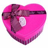 Cajas de embalaje de papel regalo Caja de caramelos de partido a favor de la caja con cinta de opciones