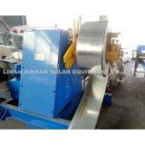 Máquina de modelagem de rolo de suporte solar ajustável