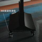 Sigle al aire libre del soporte/rectángulo ligero publicitario lateral doble del LED