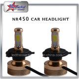4 lati scelgono le lampadine del faro del fascio H11 9006 LED per il motociclo automatico