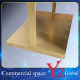 Estante de la promoción del estante de la exposición del estante de la percha del estante de visualización del acero inoxidable del estante de visualización del soporte de visualización (YZ161807)