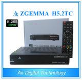 H. 265 Zgemma H5.2tc комбинированное DVB-S2+ 2*DVB-T2/C Hevc освобождает для того чтобы проветрить приемник спутникового телевидения