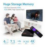 Di fabbrica di prezzi mini Rk3328 1g 8g contenitore mini 1g 8g Media Player Cina Kdplayer 17.1 di Android 7.1 TV di Pendoo