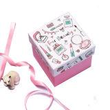 Praça da caixa de desenhos animados criativo dom Requintada casa Dom Box caixa de doces de casamento de casamento