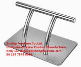 Rostfreie Stahlbausalon-Stuhl-Höhe eingestellt durch die Pumpen-Haar-Schönheits-Möbel