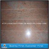 Pedra natural polida Multicolor Red Granite Steps / Floor Tiles