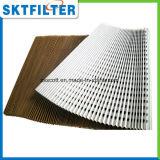 Arrêt de la peinture des filtres en papier plissé du filtre à air