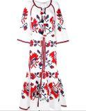Anche il vestito da partito elegante del vestito da cerimonia nuziale di stile cinese di banchetto