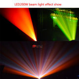 Luz principal movente do diodo emissor de luz do evento 200W do DJ do estágio de Nj-200W