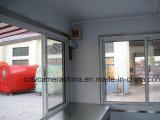 Karren van het Snelle Voedsel van de straat de Mobiele Mini met het Venster van de Schaduw (shj-MFS250)