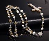 Христианка способа вероисповедная отбортовывает ювелирные изделия ожерелья нержавеющей стали креста женщины диаманта привесные