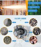 Acetylen-Gas, das Kalziumkarbid bildet