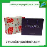 Sacchetto cosmetico reso personale del regalo dei vestiti con stampa su ordinazione di marchio