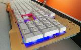Цветастой переменчивой компьтер-книжка/компьютер клавиатуры металла связанные проволокой кнопкой