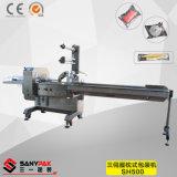 China Drie de Servo Horizontale Verpakkende Machine van de Stroom