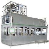 Machine de remplissage de bouteilles en plastique complètement automatique de l'eau et machines de écriture de labels