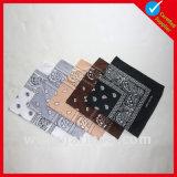 Großhandels-Polyester-Baumwollkopf-Quadrat-Schal