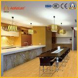 食堂のための150X600mmの無作法な陶磁器の木製のタイル