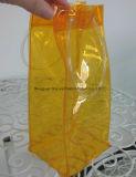 Покрашенный мешок ручки PVC мешка льда PVC для пива упаковки