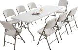 Vente chaude plastique de haute qualité pour l'extérieur Table pliante