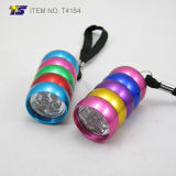Linterna colorida de la carrocería 6 LED (T4184)