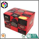 カスタムカラーゆとりのWindowsのカップケーキのペーパー包装ボックス