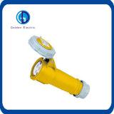 IEC 309, 63 5p color rojo de la fase tres del enchufe de alimentación industrial