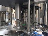 Автоматическая машина воды бутылки любимчика заполняя разливая по бутылкам