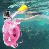 Smaco 180 Grad-volles Gesicht Panoramicdesign Easybreath Snorkel-Tauchens-Schablone