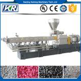 Estirador de dos fases gemelo del negro del estirador/de carbón de tornillo de los gránulos biodegradables del PE que granula para llenar Masterbatch