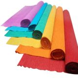 Papel de Crepe coloreado Rolls