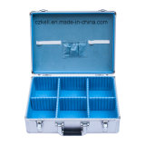Soem-Aluminiumhilfsmittel-Kasten-kundenspezifischer Metallwerkzeugkasten (KeLi-Tool-1078)