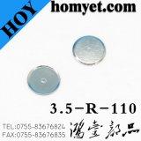 Produits de matériel nickelés de dôme en métal d'acier inoxydable d'approvisionnement d'usine pour le commutateur de tact