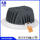 Venta al por mayor nueva ronda 8 pulgadas COB 30W / 48W techo LED Downlight de aluminio