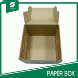 Естественный цвет печать коробку из гофрированного картона
