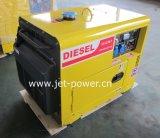 Koelde de Lucht van de Enige Fase van het Gebruik van het huis Stille Diesel 7kVA Generator