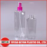 bottiglia di plastica quadrata dell'animale domestico 250ml con la pompa dello spruzzatore (ZY01-C024)