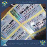 Kundenspezifischer Entwurfs-Sicherheits-Kratzer weg von der Lotterie-Karte mit Seriennummer