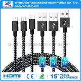 1m Sumsang Mobilphone를 위한 마이크로 USB 케이블